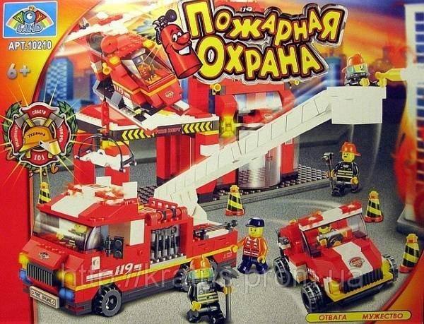 Лего пожарная часть купить харьков