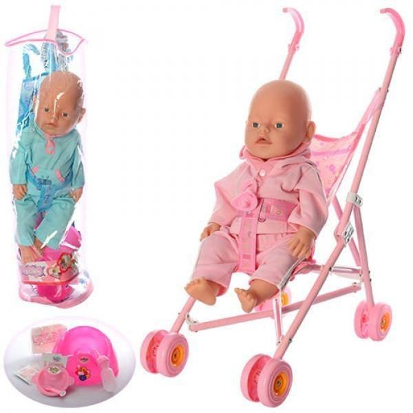 Кукла с коляской и горшком 5 функций BB RT 07-02 CDZ в ...