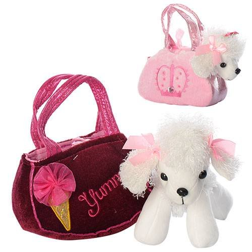 63543d66206e Сумочка для девочки с Собачкой белый пудель D21911-07 купить в ...