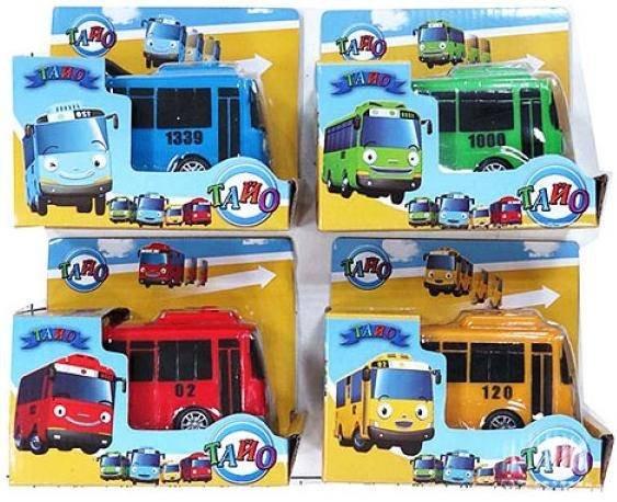 автобус инерционный приключения тайо 30551