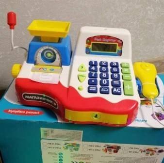 Купить кассовый аппарат для ребенка