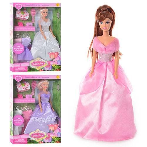 Кукла Барби с 3-мя платьями 8071 Defa купить в Харькове ...