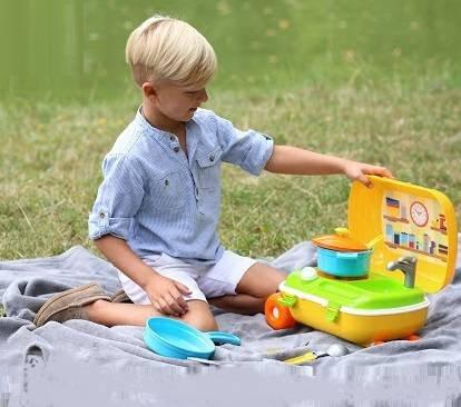 Купить детский чемодан с колесиками и ручкой для мальчика недорого