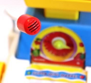 Кассовый аппарат для детей - детская касса с чеком и микрофоном