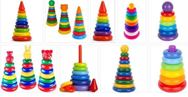 Купить пирамидки для детей недорого