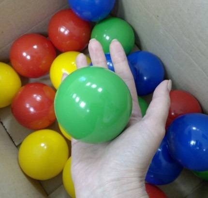 качественные украинские шарики кульки для сухого бассейна оптом