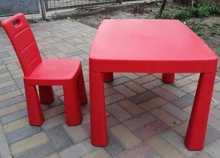 Купить столик и стульчики розове для девочки ТМ Долони