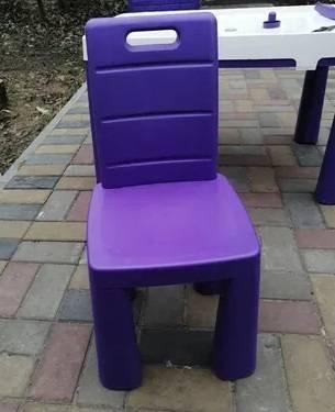 Купить пластиковый детский стол и стульчик для улицы