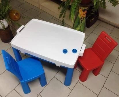 Купить детский стол и 2 стула для дома и для улицы Долони