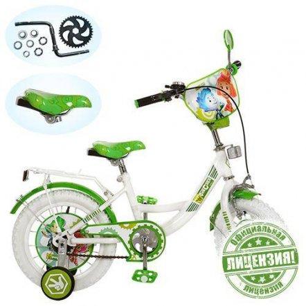"""Детский двухколесный велосипед 14"""" Фиксики  FX 0035 W"""