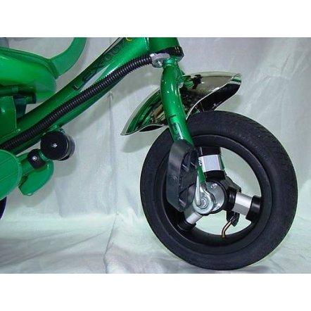 """Велосипед Lexus 007 Stroller с надувными колесами """"Baby Club"""" зеленый"""