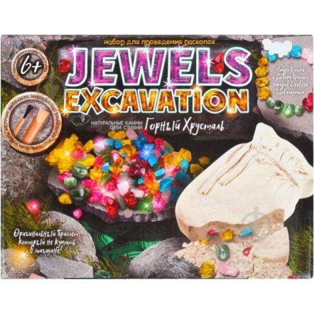 Набор  для раскопок камни EWELS EXCAVATIONJEX Danko Toys -01-01