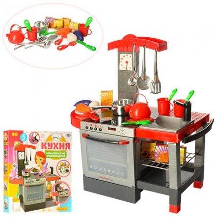 Детская кухня электронная со звуковыми эффектами и духовкой 011