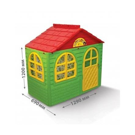 Домик для детей для улицы малый зеленый Долони-Тойс 01550/3