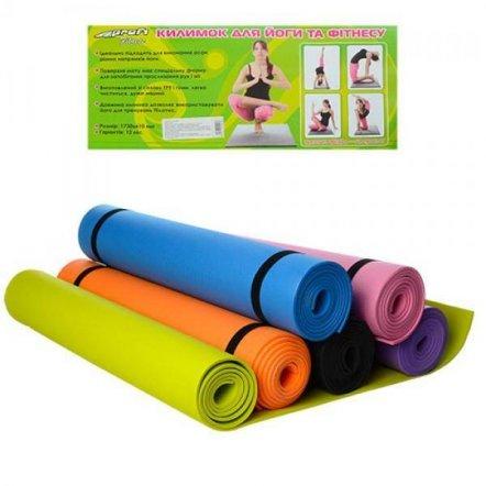 Мобильный коврик для занятий спортом Йогамат M 0380-2 EVA