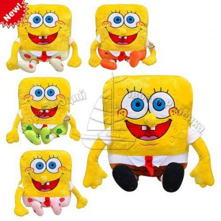 Мягкая игрушка Губка Боб (Спанч Боб) 0395