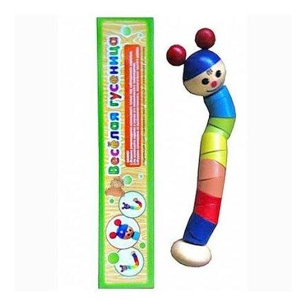 """Деревянная игрушка """"Гусеница"""" ломалка 0405"""