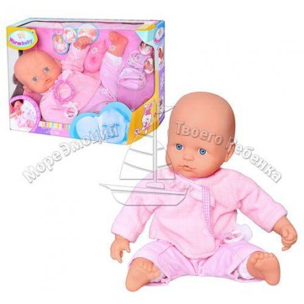 Пупс Warm Baby с ночками 05054 и звуковыми эффектами