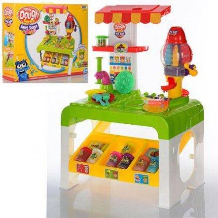 Кухня детская с пластилином и прессом МК 0675
