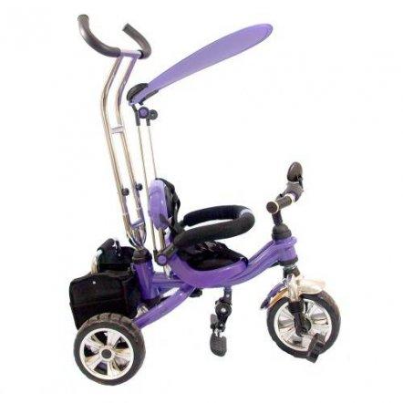 Велосипед трехколесный M 0696 Profi Trike  EVA Foam фиолетовый