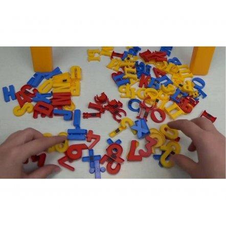 """Мольберт  детский с магнитами 0703 RUS-UK-ENG """"Доска знаний 3 в 1"""" Joy Toy"""