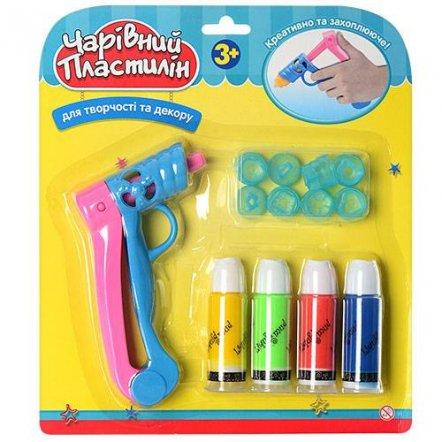 Набор для творчества застывающий 3D-пластилин с ручкой-пистолетом 0705