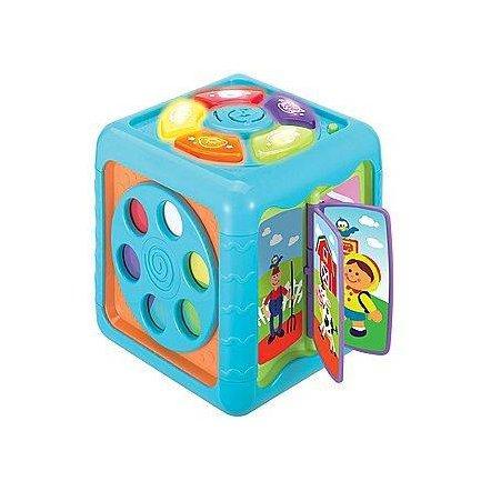 """Музыкальная игрушка развивающий многофункциональный """"Волшебный куб"""" 0715  WinFun, Гонконг"""
