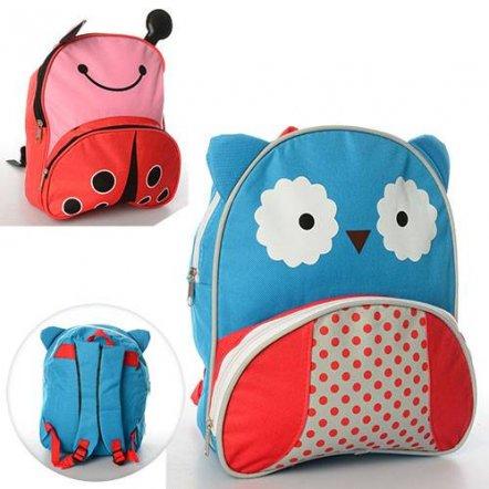 Рюкзак для детей Сова или Божья коровка 0735
