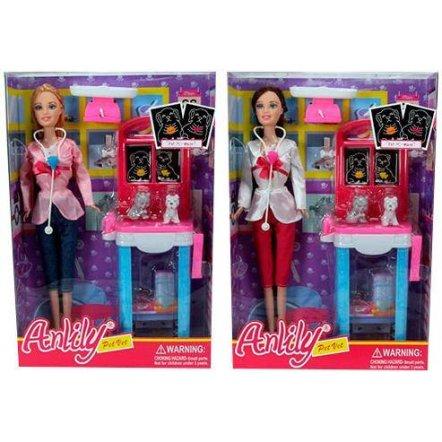 Кукла ветеринар LH078-2-1