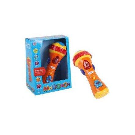 Микрофон музыкальный в коробке 0933  Joy Toy