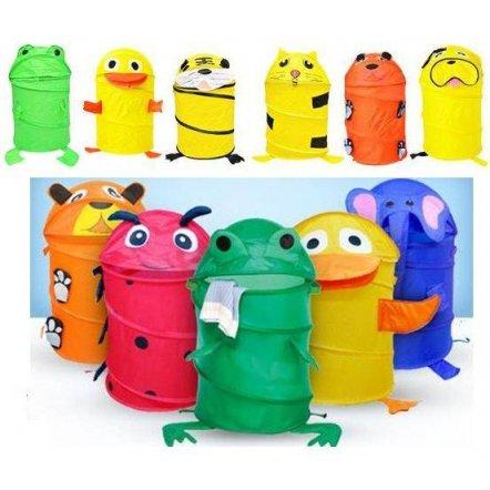 """Корзина для игрушек """"Животные и насекомые"""" М 1039 малая"""