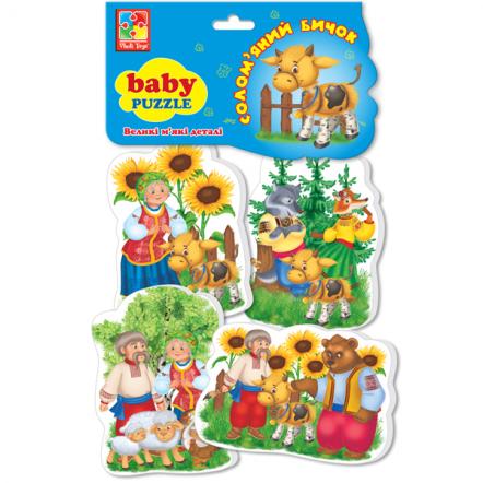"""Беби пазлы для малышей мягкие """"Сказки"""" VT 1106 Vladi Toys, Украина"""