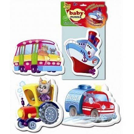 Беби пазлы  Транспорт VT 1106-08 Vladi Toys
