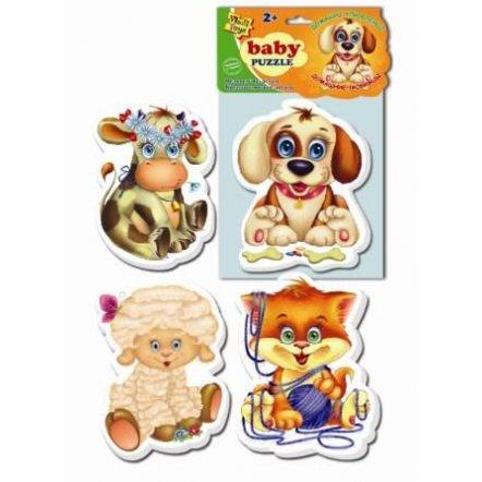 "Беби пазлы ""Животные"" VT1106 Vladi Toys, Украина"