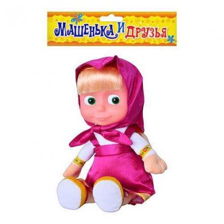Кукла-мультгерой Маша музыкальная мягкотелая 11152 большая