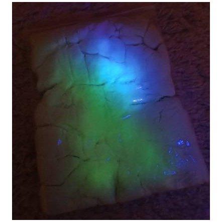 Кинетический песок светящийся 1155 с фонариком 1 кг в коробке MK 1155