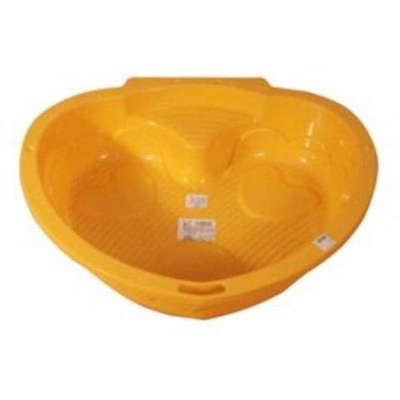 Песочница Сердечко оранжевое 434 Marian Plast/ Bambi