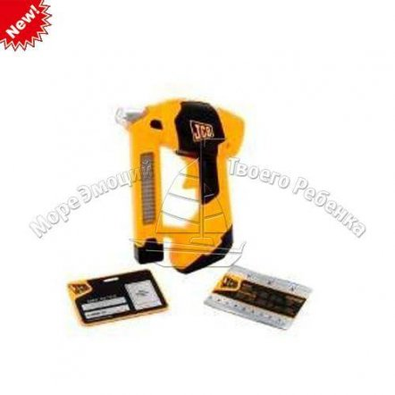 Строительный степлер игрушечный с музыкальными и световыми эффектами 1415690 HTI, Великобритания