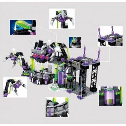 Конструктор Трансформеры Космическая база с  фигурками 398 деталей 1613 BRICK