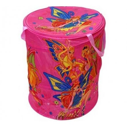 Корзина для игрушек Феи Winx на змейке 17-004