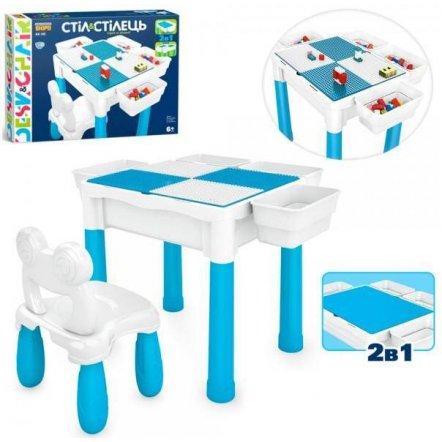 Конструктор-стол + стул 400 деталей KB 180