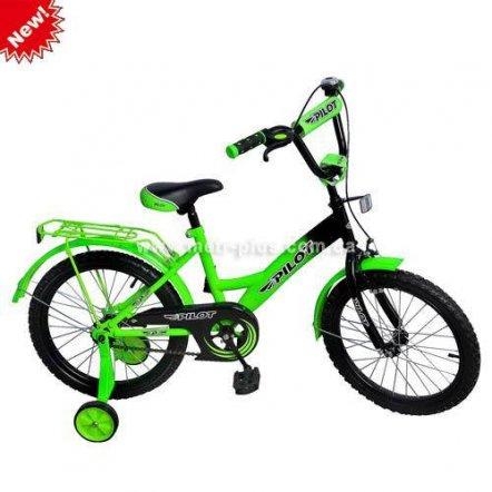 Велосипед двухколесный PILOT детский 18 дюймов PL 183 3 цвета
