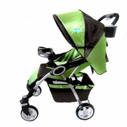 Коляска детская прогулочная SQUALLO C 208-5-11 зеленая
