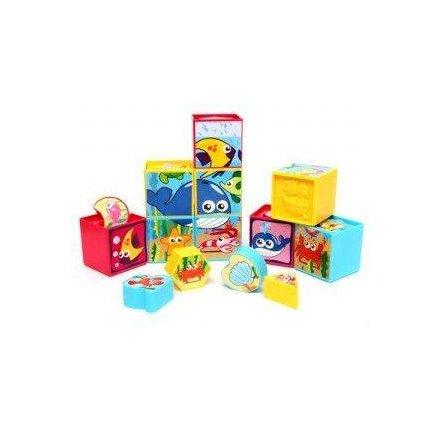 Кубики - сортеры с веселыми картинками  картинками, Redbox 25592