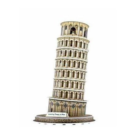 """Пазлы деревянные 3D WD 2561 """"Пизанская башня"""""""