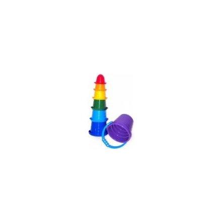 """Пирамидка-пасочки """"Самбреро-2"""" пластмассовая 2674 Технок, Украина"""