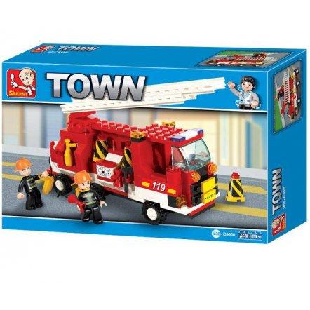 Конструктор пожарная машина 175 деталей M38-B3000 SLUBAN