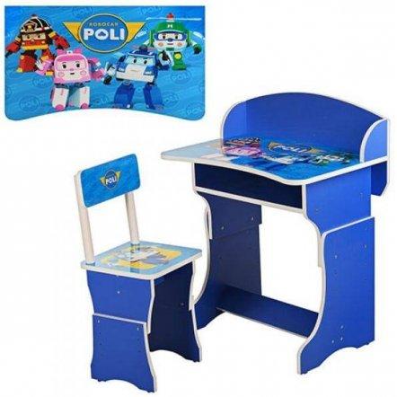 Детская парта со стульчиком Робокар 301-12 Vivast