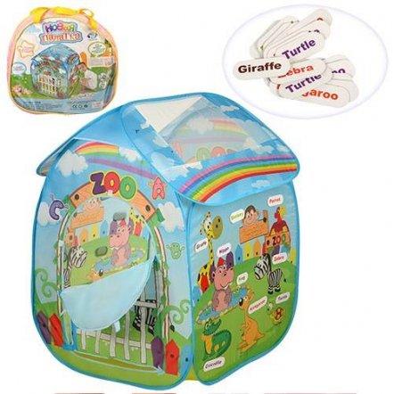 Палатка домик Зоопарк детская М 3098