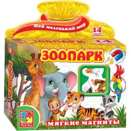 """Мягкие магниты """"Зоопарк"""" 1504 Vladi Toys, Украина"""